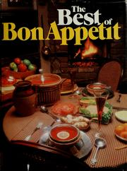 Cover of: The Best of Bon Appetit