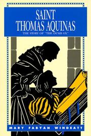 Cover of: St. Thomas Aquinas