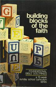 Cover of: Building Blocks of the Faith