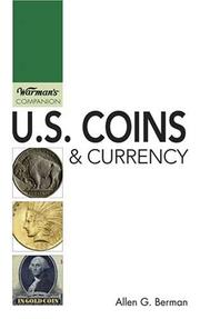 Cover of: U. S. Coins & Currency (Warman's Companion)
