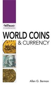 Cover of: World Coins & Currency (Warman's Companion)
