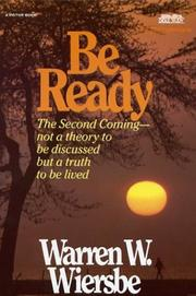 Cover of: Be Ready (Be)