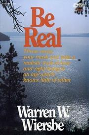 Cover of: Be Real (An Input Book)