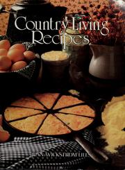 Cover of: Country Living Recipes (Progressive Farmer)