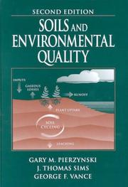 Cover of: Soils and Environmental Quality, Second Edition