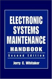 Cover of: Electronic systems maintenance handbook