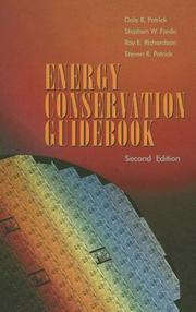 Cover of: Energy Conservation Guidebook, Second Edition