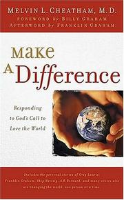 Cover of: Make a Difference: Responding to God's Call to Love the World