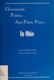 Cover of: Government, politics, and public policy in Ohio