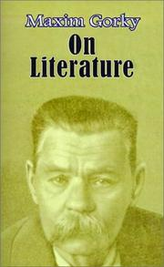 Cover of: On literature: Selected Articles