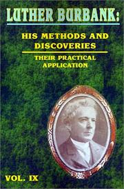 Cover of: Luther Burbank