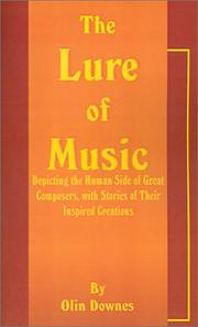 Cover of: The Lure of Music