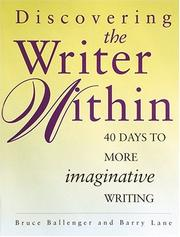 Cover of: Discovering the Writer Within
