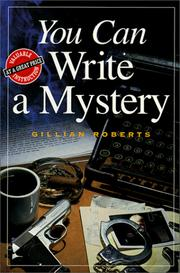 Cover of: You Can Write a Mystery (You Can Write)