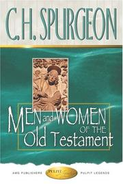 Cover of: Men and Women of the Old Testament
