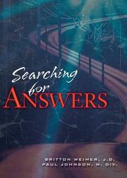 Cover of: Searching for Answers