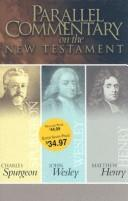 Cover of: Parallel Commentary on the New Testament