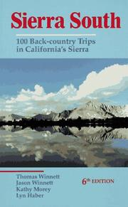Cover of: Sierra South