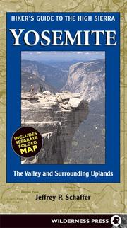 Cover of: Hiker's Guide High Sierra Yosemite
