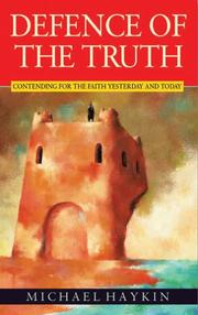 Cover of: Defence of the Truth
