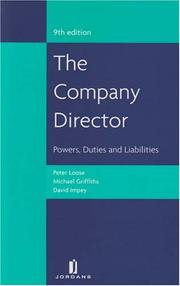 Cover of: The Company Director