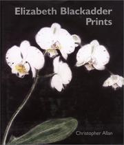 Cover of: Elizabeth Blackadder Prints