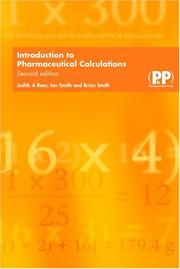 Cover of: Introduction To Pharmaceutical Calculations