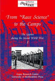 Cover of: The Gypsies during the Second World War: Volume 1