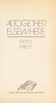 Cover of: Altogether Elsewhere