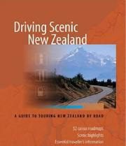 Cover of: Driving Scenic New Zealand