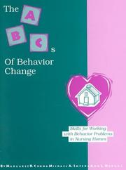 Cover of: The ABC's of Behavior Change