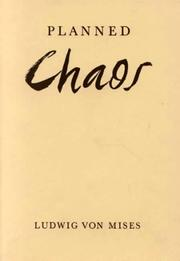 Cover of: Planned Chaos