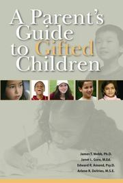 Cover of: A Parent's Guide to Gifted Children