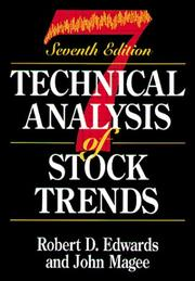 Cover of: Technical Analysis of Stock Trends, Seventh Edition