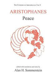 Cover of: Aristophanes