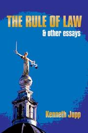 Cover of: The Rule of Law