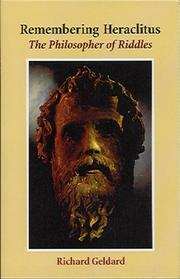 Cover of: Remembering Heraclitus