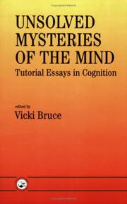 Cover of: Unsolved Mysteries Of The Mind