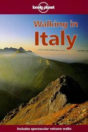 Cover of: Lonely Planet Walking in Italy (Walking in Italy, 1st ed)