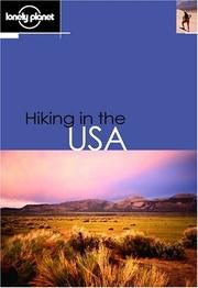 Cover of: Lonely Planet Hiking in the USA