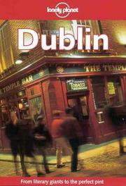 Cover of: Lonely Planet Dublin (3rd ed)