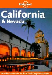 Cover of: Lonely Planet California & Nevada (Lonely Planet California)