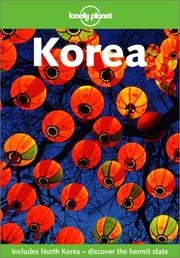 Cover of: Lonely Planet Korea