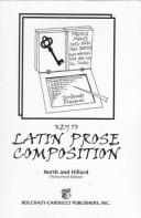 Cover of: Key to Latin Prose Composition