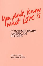 Cover of: You Don't Know What Love Is
