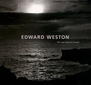 Cover of: Edward Weston