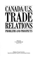 Cover of: Canada/U.S. Trade Relations