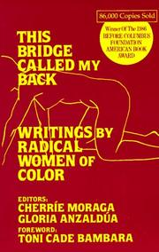 Cover of: This Bridge Called My Back: Writings by Radical Women of Color