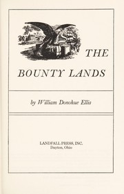 Cover of: The bounty lands