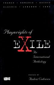 Cover of: Playwrights of exile